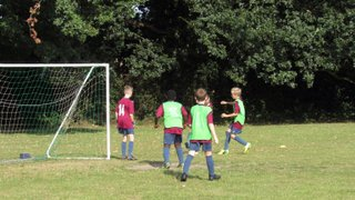 WTFC u11s training Saturday 24 September 2016