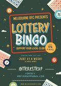 Lottery Bingo has arrived at Melbourne RFC