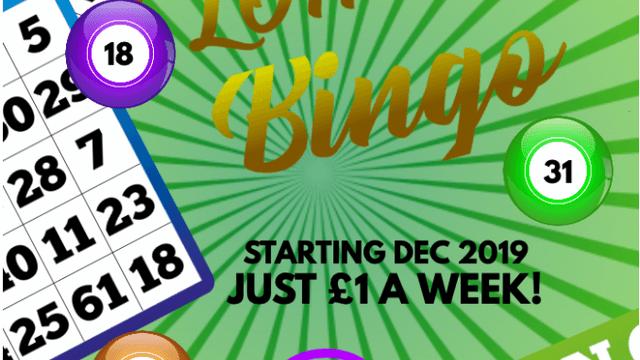 MRFC Lottery Bingo 2