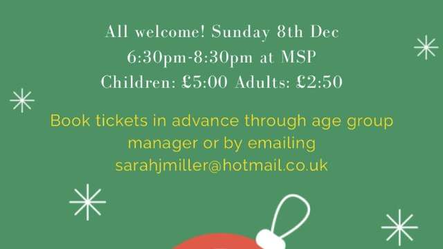 Minis and Juniors Christmas Party