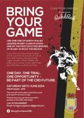 BRING YOUR GAME RUGBY TRIALS DAY