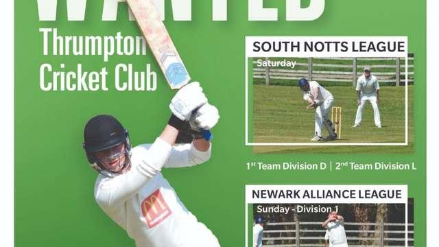 Thrumpton C C pre-season Nets