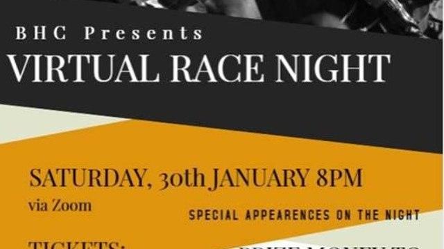 BHC Virtual Race Night