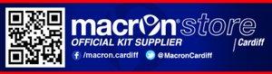 Online Shop - Macron Cardiff