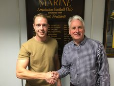 MARINE DELIGHT AS DANNY MITCHLEY SIGNS NEW CONTRACT...