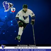 Jak Enticknap returns to the Buffalo