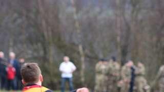 John Finnegan memorial game 23/3/18 Harrogate Colts 29:0 Army Foundation College