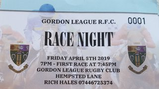 An Evening At The Races with GLRFC.