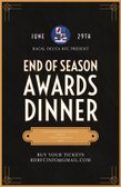 End of Season Awards Dinner - 29th June 2019