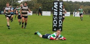 Folkestone overcome Pulborough away for what is thought to be the first time.