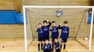 U9's Red Team Futsal League Intro - January 2015