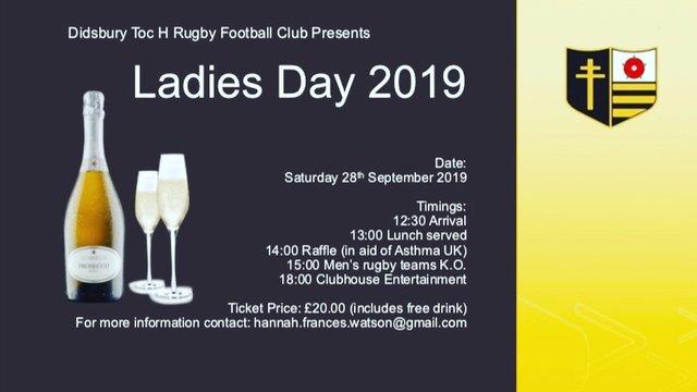 Ladies Day- 28th September