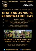 Minis and Juniors Registration Day