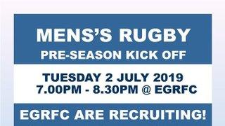 EGRFC Mens' Pre-Season Training