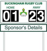 Rugby Score Boards Sponsorship Opportunity