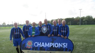 The Acorns Walking Football Team - Champions of EWFL Over 65's Division!