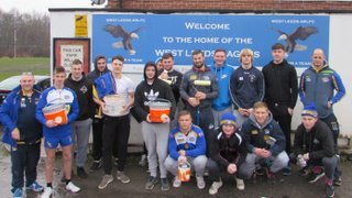 Young Rhinos players give back to community game