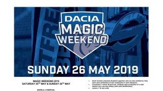 Discount Magic Weekend Tickets
