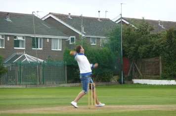 Bopper opens the bowling for Drighlington Adwalton FC