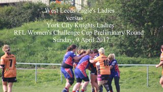 West Leeds v York City Knights - RFL Women's Challenge Cup Preliminary Round - 9 April 2017