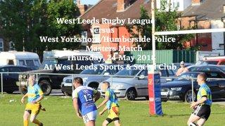 Leeds RL v Yorkshire & Humberside Police - 24 May 2018