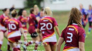 West Leeds Girls U16s v Wibsey Warriors - 8 September 2018
