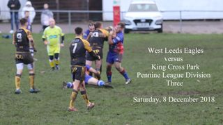 West Leeds vs King Cross - 8 December 2018 (Pennine League)