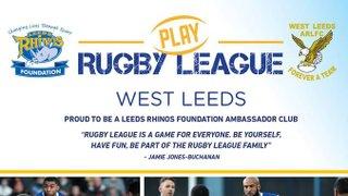 West Leeds Ambassador Club to Host Boy's Open Training Session on 5 February