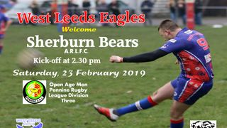 This Saturday, The Eagle's Men come head to head with the Bears