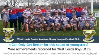 More Achievements Recorded by For West Leeds Boys