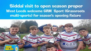 Siddal's visit opens 2019 season for Boys Under 15's