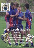 This Tuesday at West Leeds - District Cup Action Against East Leeds
