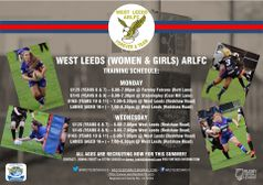West Leeds (Women & Girls) welcome new recruits for the summer season