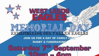 West Leeds Eagles ARLFC Memorial Day Coming Soon!