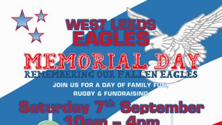 West Leeds Eagles Annual Memorial Day - A day of fun, rugby and meeting people