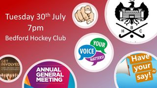 BHC AGM   Tuesday 30th July 2019