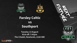 Matchday Information: Farsley Celtic vs Southport (13/08/19)