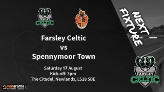Matchday Information: Farsley Celtic vs Spennymoor Town (17/08/2019)