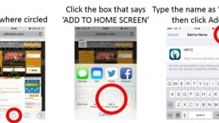 Adding a Quick Link to Your iPhone Home Screen
