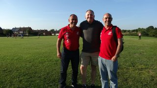 VISITING COACHES AT TRENTHAM TRAINING SESSION JULY 2015