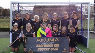 Droitwich Spa Hockey Ladies 2 vs Bromsgrove 4s November 19 2016