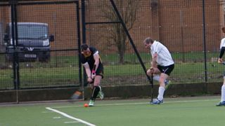 Droitwich Spa Hockey Club Men's 1s vs Old Wulfrunians Men 1s Feb 25 217
