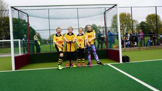 Under 10s at BHC Worcestershire Tournament Oct 2018