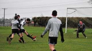 HUFC U16 'v' OLNEY TOWN COLTS FOXES BLUE