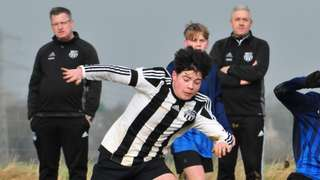 HUFC U16 'v' Towcester Town Foxes