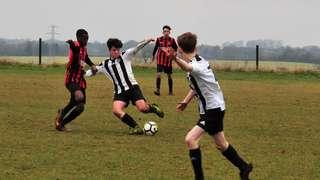 HUFC U16 'v' City Colts