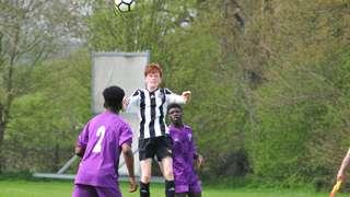HUFC U16 'V' SHENLEY PUMAS