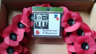 REMEMBRANCE PARADE - HUFC