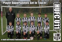 OUR UNDER 11'S HAVE PLAYER SPACES