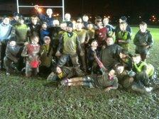Muddy Training at Shobnal last night!